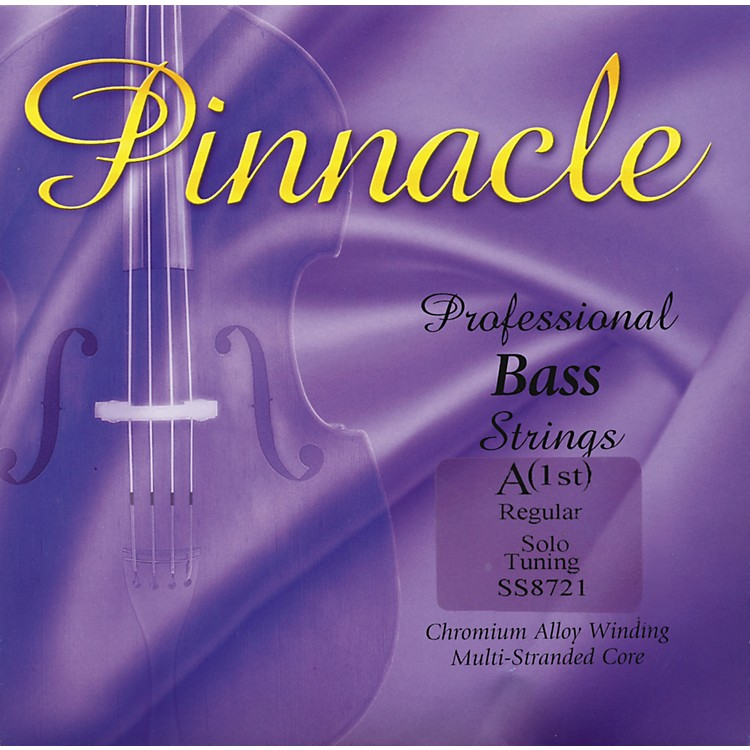 Super Sensitive Pinnacle Bass Strings A, Solo 3/4 Size