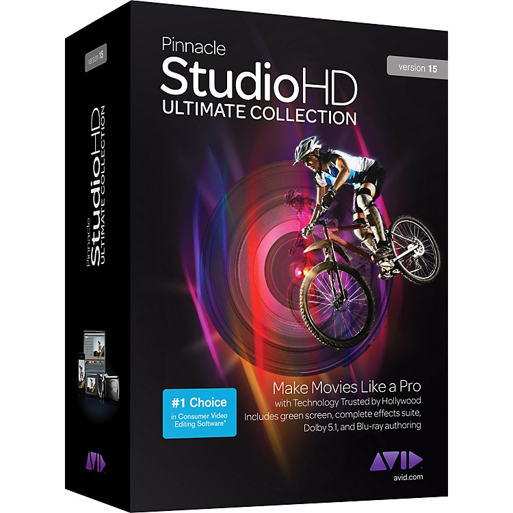 Pinnacle Pinnacle Studio HD Ultimate Collection Version 15