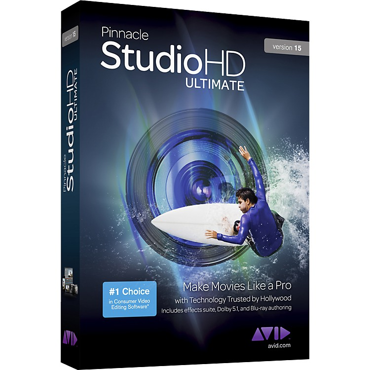 Pinnacle Pinnacle Studio HD Ultimate Version 15