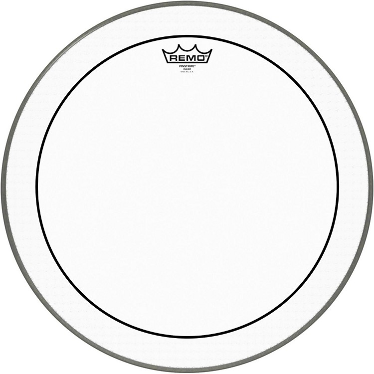 Remo Pinstripe Clear Bass Drum Head  18 in.