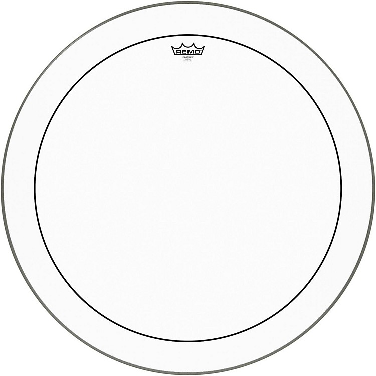 Remo Pinstripe Clear Bass Drum Head  28 in.