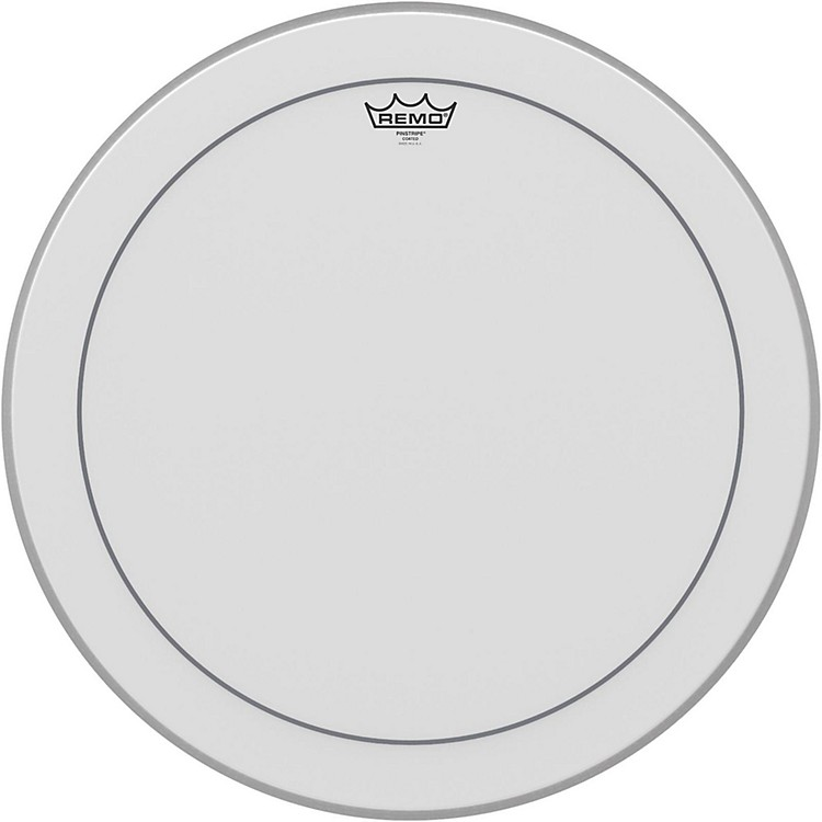 Remo Pinstripe Coated Bass Drumhead  22 in.
