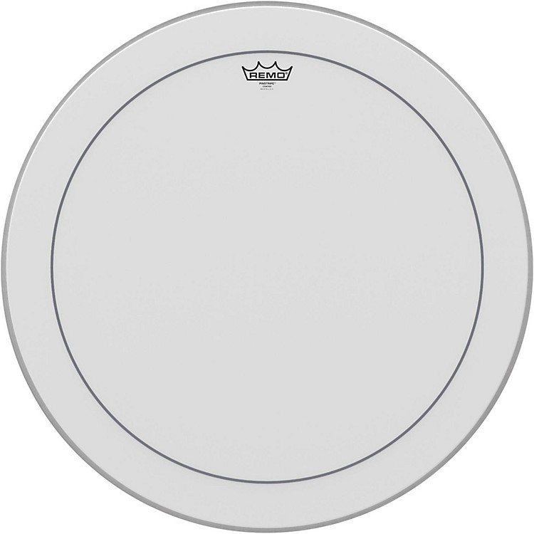 Remo Pinstripe Coated Bass Drumhead  26 in.
