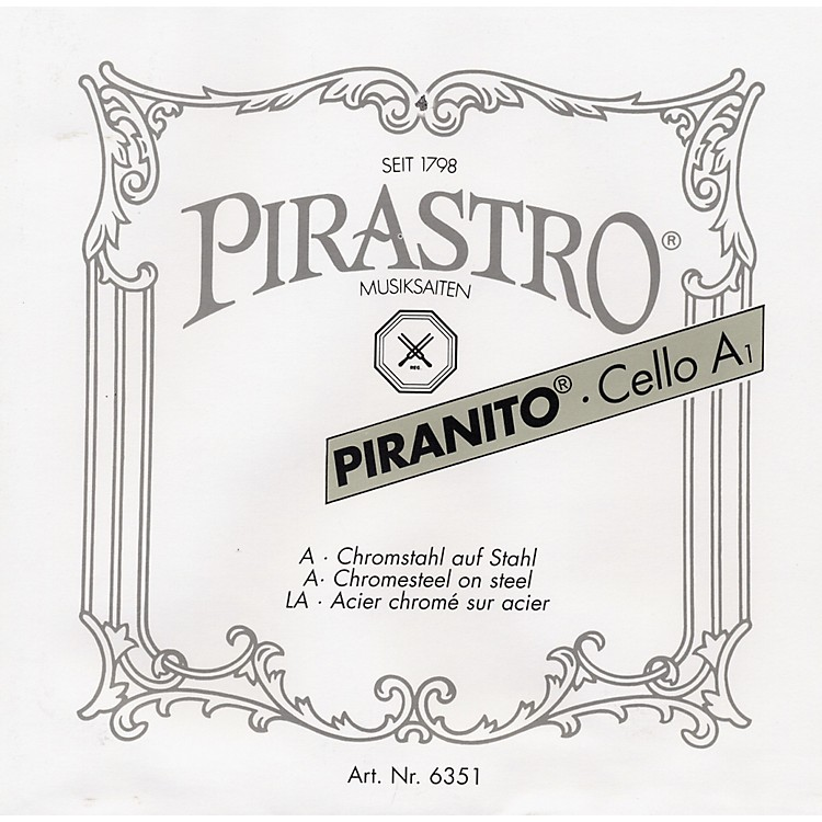 Pirastro Piranito Series Cello A String 1/4-1/8 Size