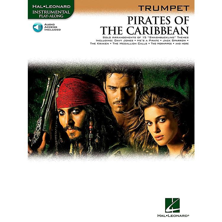 Hal LeonardPirates Of The Caribbean for Trumpet Instrumental Play- Along Book/CD