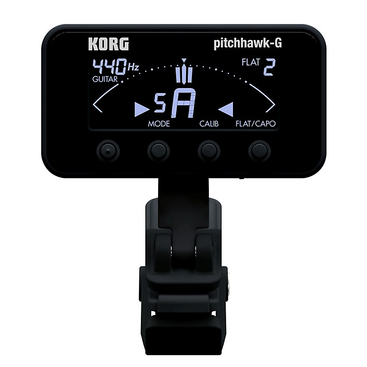 Korg Pitchhawk Clip-On Tuner Black