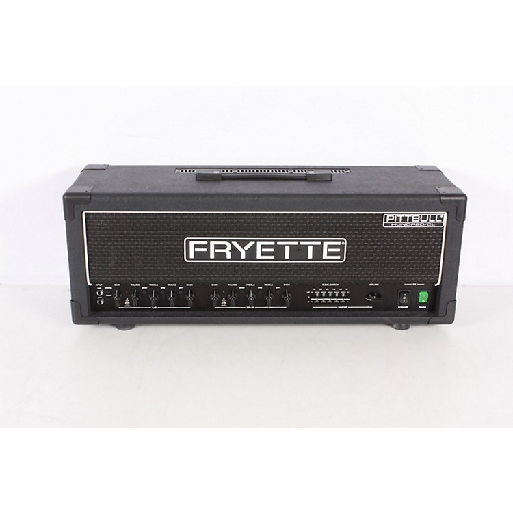 Fryette Pittbull Hundred/CL G100CL/EQ 100W Tube Guitar Amp Head Black 886830448751