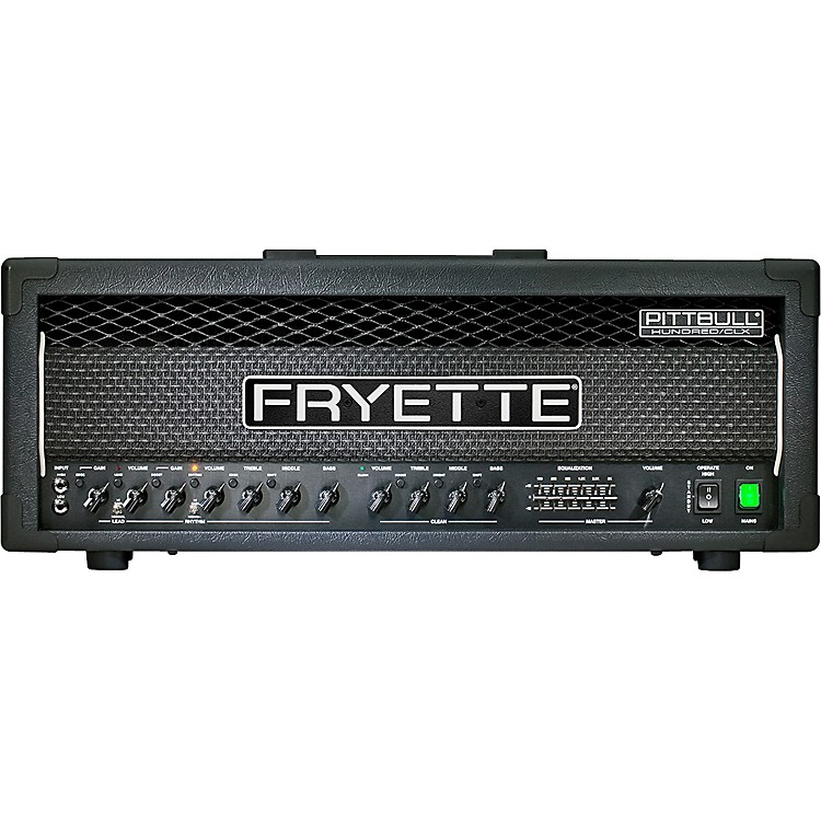 Fryette Pittbull Hundred/CLX 100W Masterbuilt Tube Guitar Amp Head