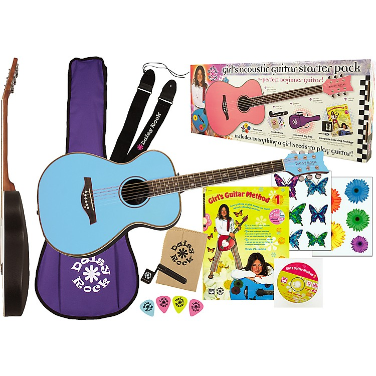 Daisy RockPixie Acoustic Guitar Starter Pack