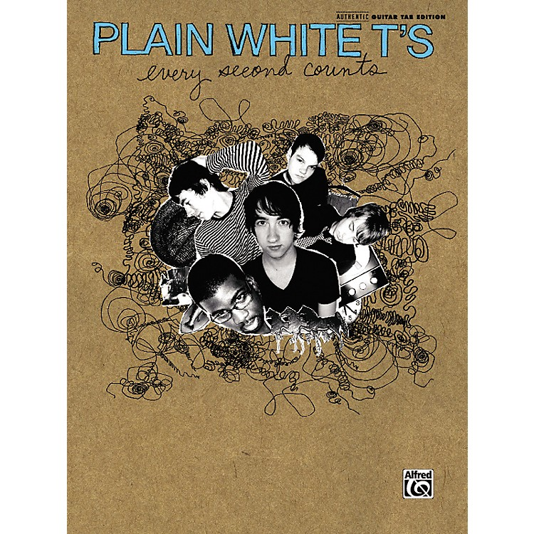 AlfredPlain White T's - Every Second Counts Guitar Tab Book