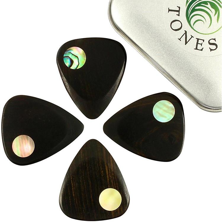 Timber TonesPlanet Tones Mixed Tin of 4 Guitar Picks