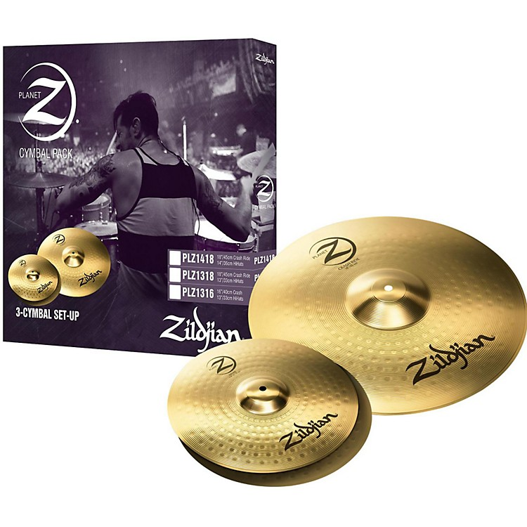 ZildjianPlanet Z 3 Pack Pro