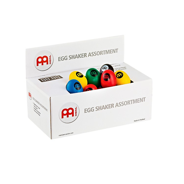 Meinl Plastic Egg Shaker Assortment Box