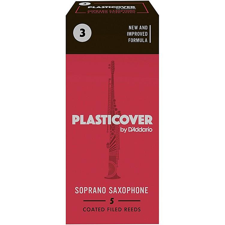 RicoPlasticover Soprano Saxophone ReedsStrength 3Box of 5