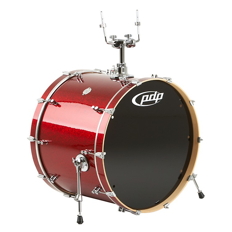PDPPlatinum Finishply Bass Drum with Tom Mount