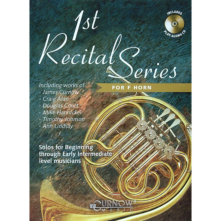 Hal Leonard Play-Along First Recital Series Book with CD French Horn