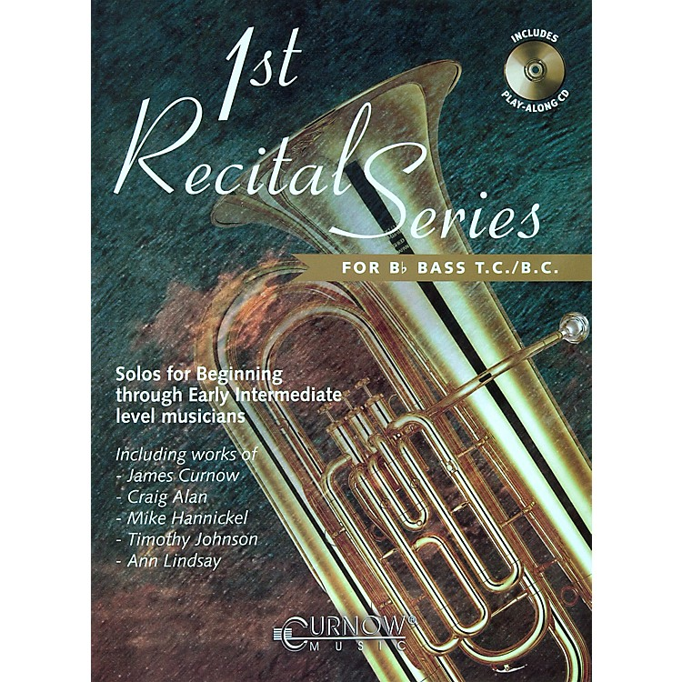 Hal Leonard Play-Along First Recital Series Book with CD Tuba or Bb Bass