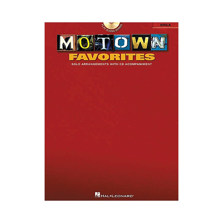 Hal Leonard Play-Along Motown Favorites Book with CD Viola Viola