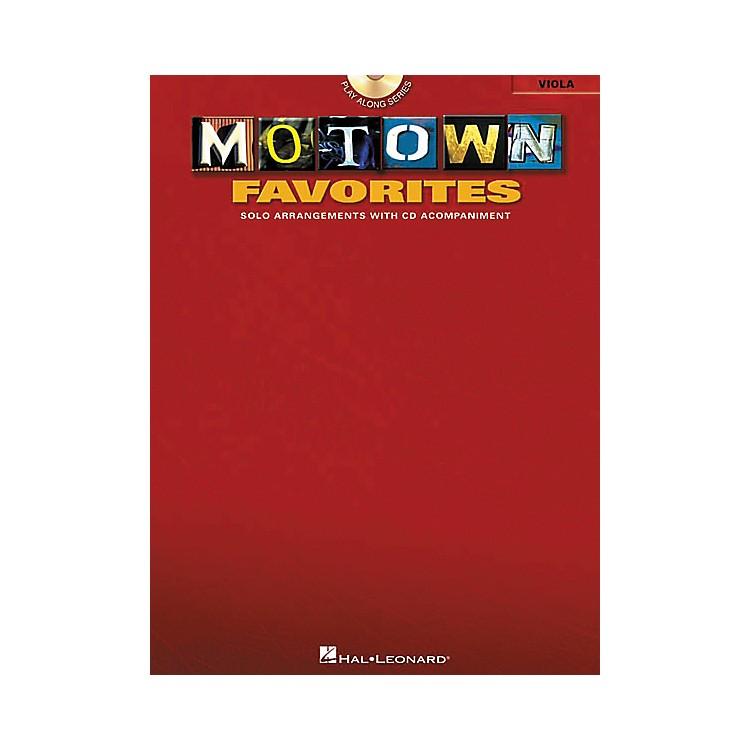 Hal LeonardPlay-Along Motown Favorites Book with CD ViolaViola