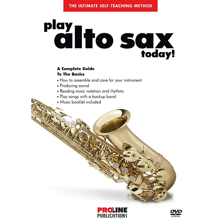 ProlinePlay Alto Sax Today DVD