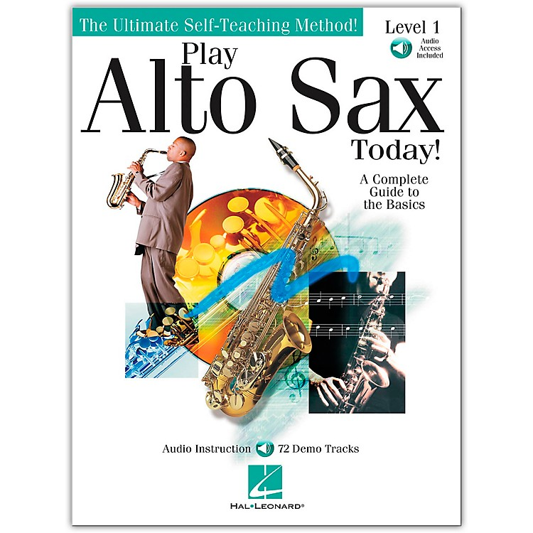 Hal Leonard Play Alto Sax Today! Level 1 Book/CD