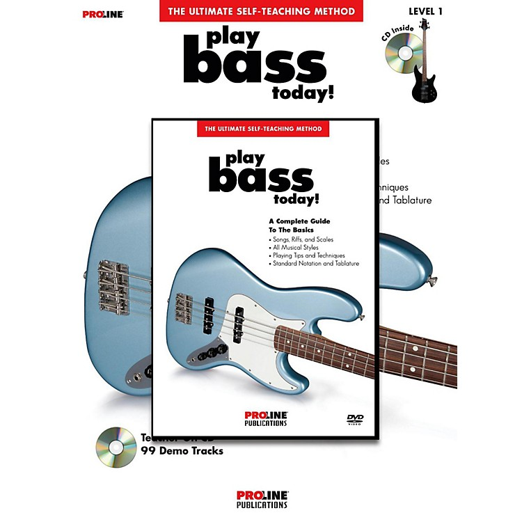 ProLinePlay Bass Today! (Book/DVD Pack)