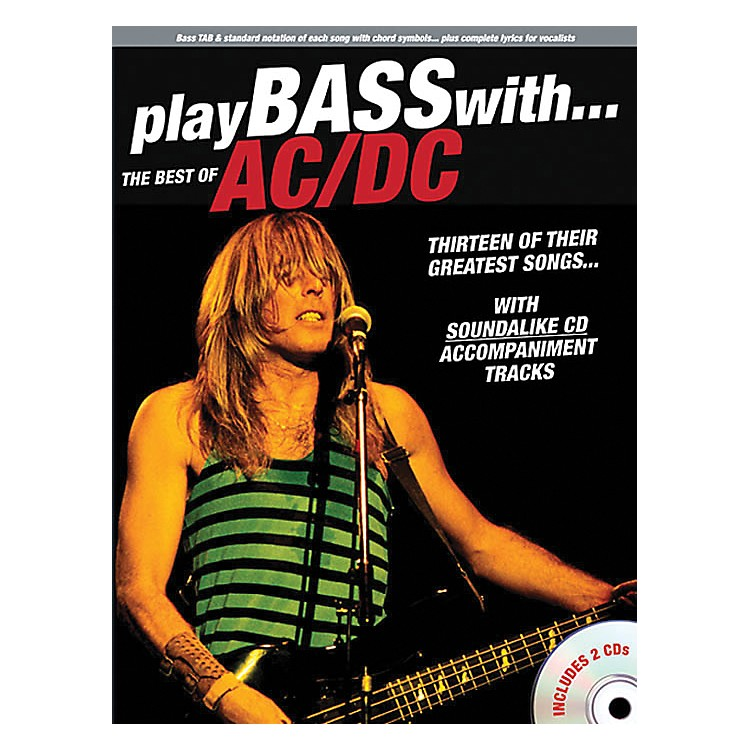 Music SalesPlay Bass With The Best Of AC/DC (Book & 2 CDs)