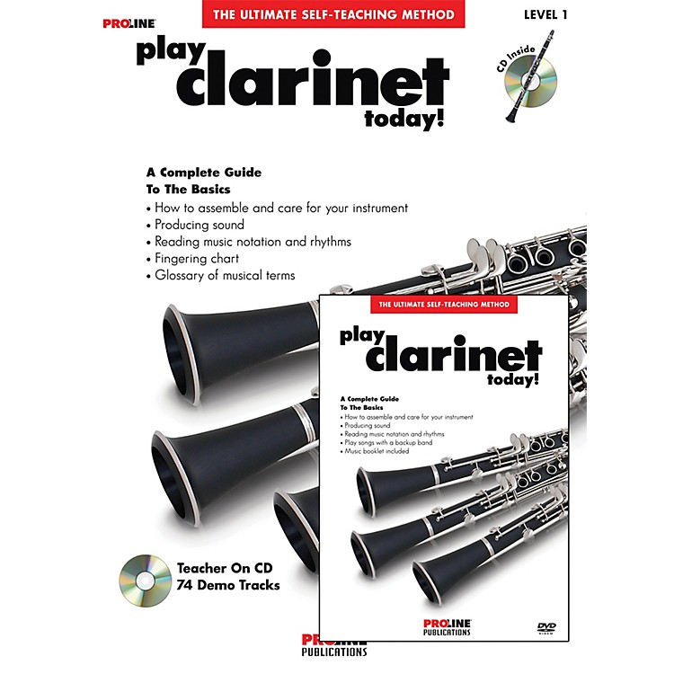 Proline Play Clarinet Today Beginner's Pack Book/CD/DVD
