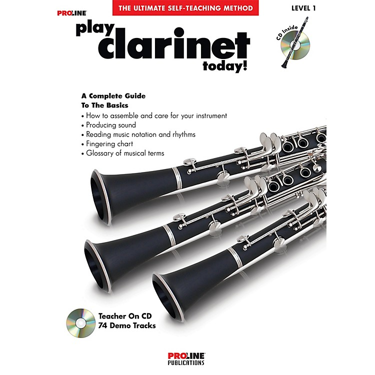 ProlinePlay Clarinet Today Book/CD