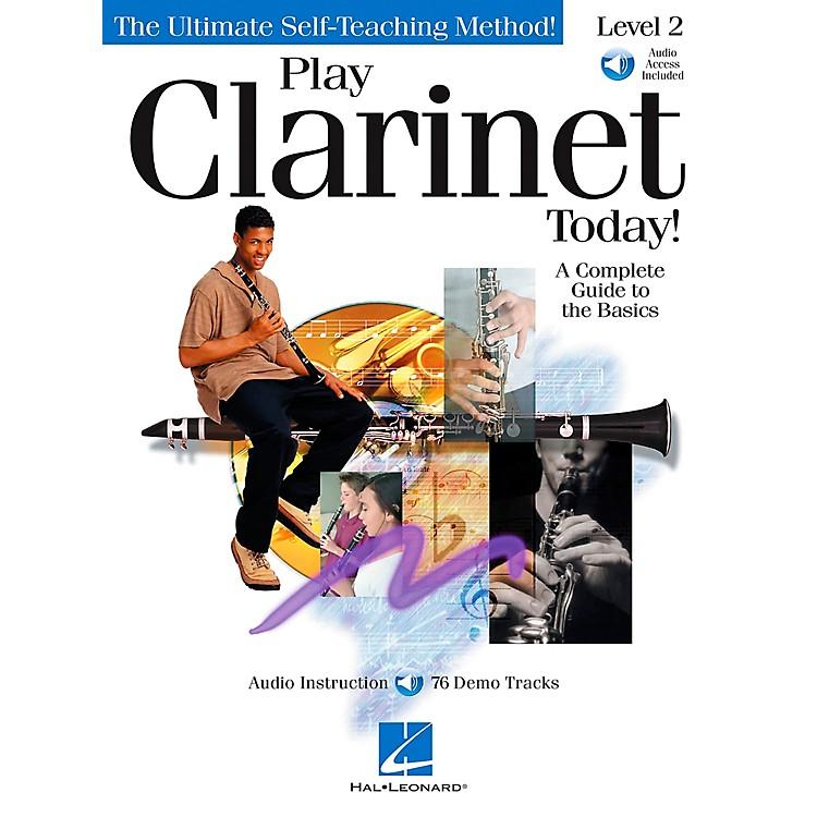 Hal LeonardPlay Clarinet Today! Level 2 CD/Pkg