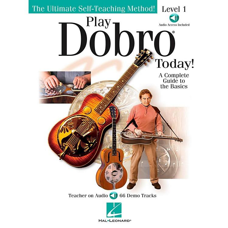 Hal LeonardPlay Dobro Today!  Level One (Book/Audio Online)