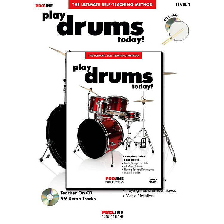 ProLine Play Drums Today! (Book/DVD Pack)