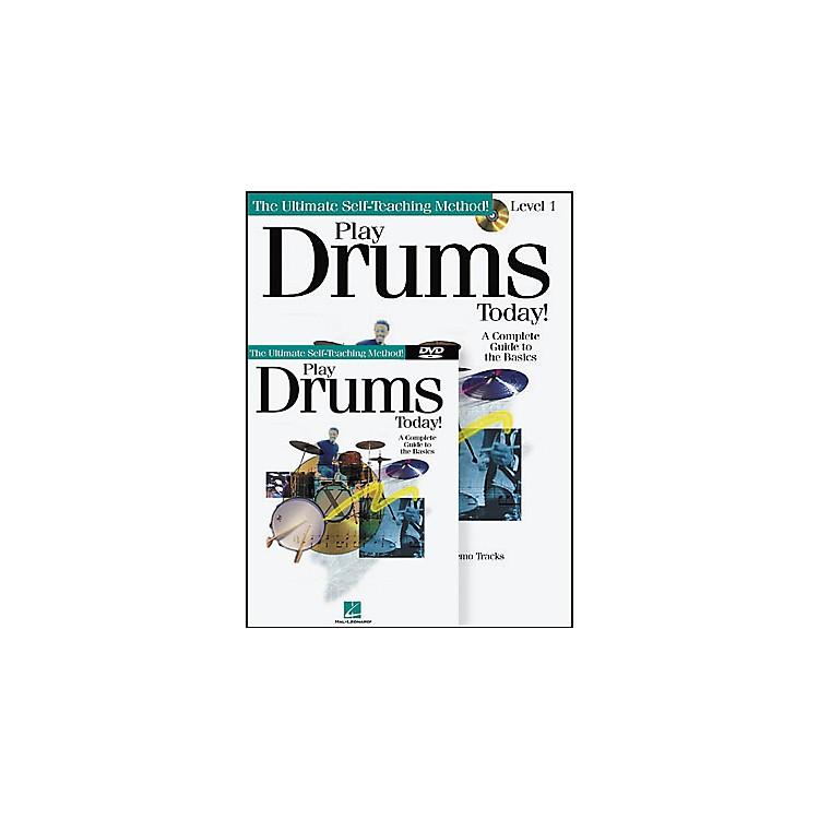 Hal LeonardPlay Drums Today! Level One (Book/CD/DVD)