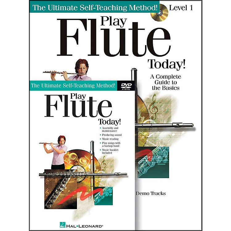 Hal LeonardPlay Flute Today! Beginner's Pack - Includes Book/CD/DVD