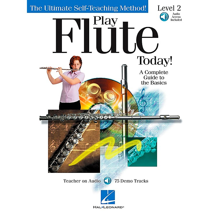 Hal Leonard Play Flute Today! Level 2 CD/Pkg