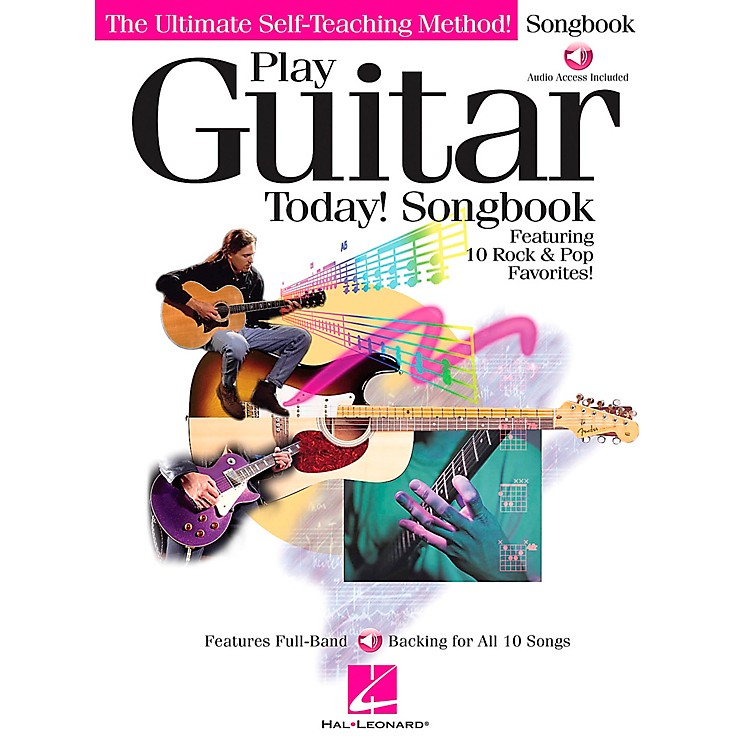 Hal Leonard Play Guitar Today! Companion Guitar Tab Songbook