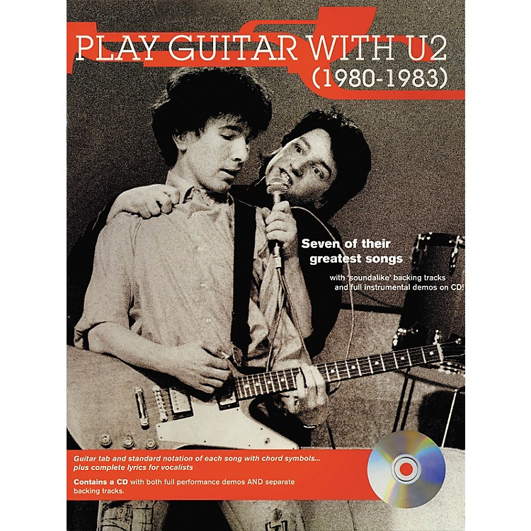 Hal Leonard Play Guitar with U2 (1980-1983) Book with CD