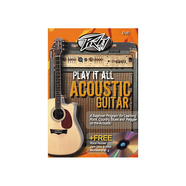 Rock House Play It All Acoustic Guitar (DVD)