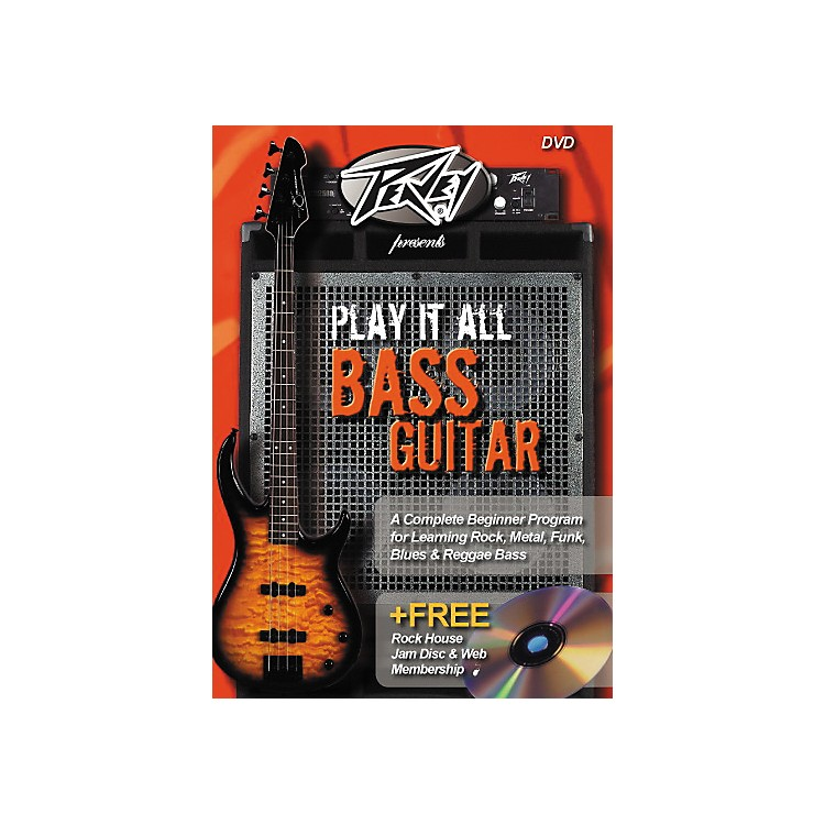 Rock House Play It All Bass Guitar (DVD)