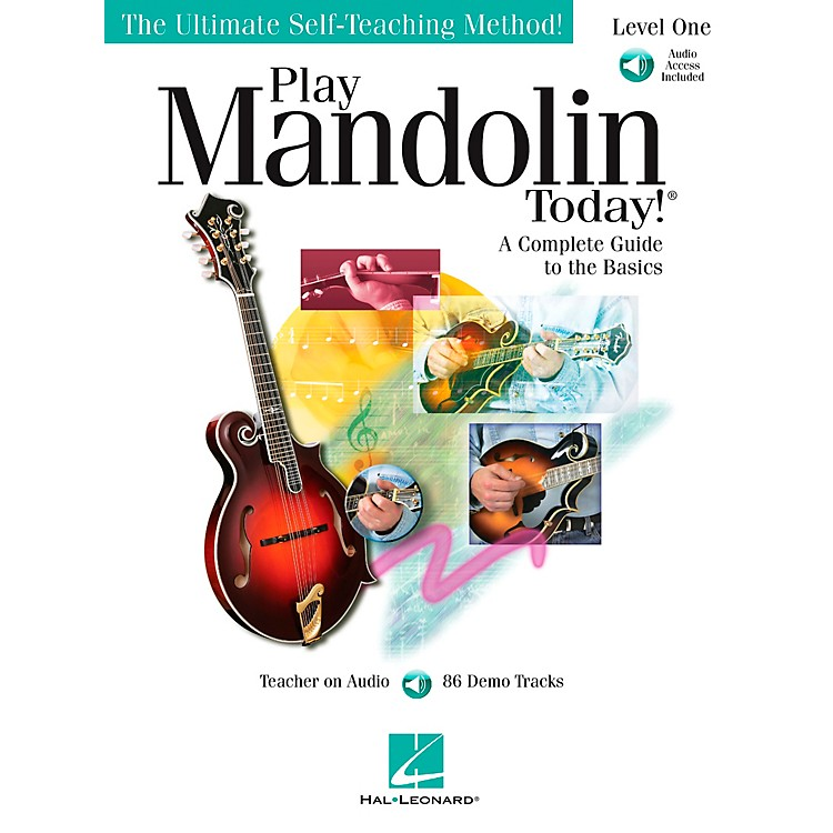 Hal Leonard Play Mandolin Today! level One Book/CD