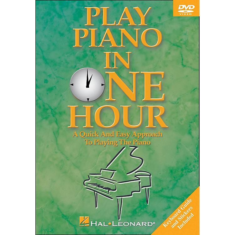 Hal LeonardPlay Piano In One Hour! DVD