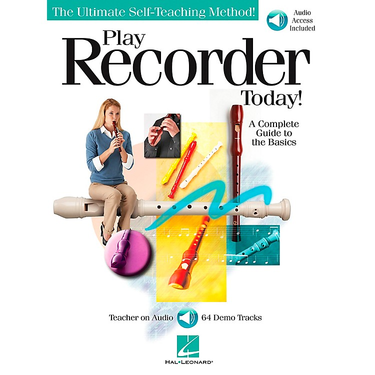 Hal LeonardPlay Recorder Today (Book/CD)