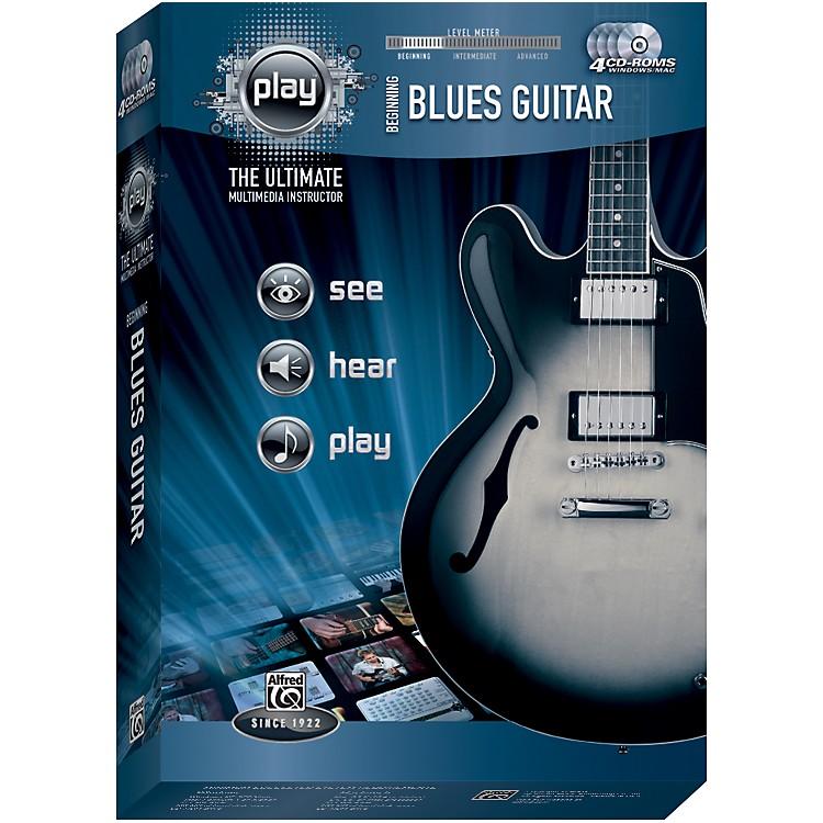 AlfredPlay Series Beginning Blues Guitar (CD-ROM)
