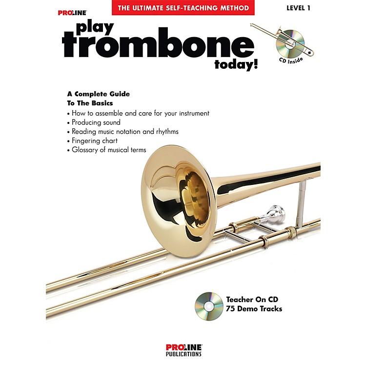 ProlinePlay Trombone Today Book/CD