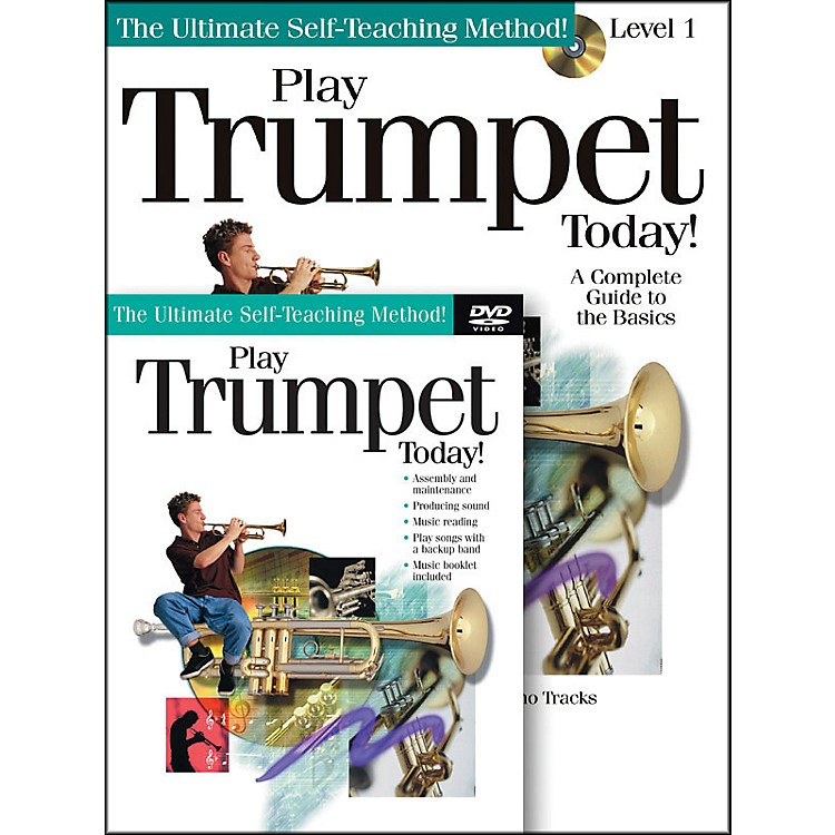 Hal LeonardPlay Trumpet Today! Beginner's Pack - Includes Book/CD/DVD