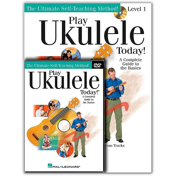 Hal LeonardPlay Ukulele Today! Beginner's Pack (Book/CD/DVD)