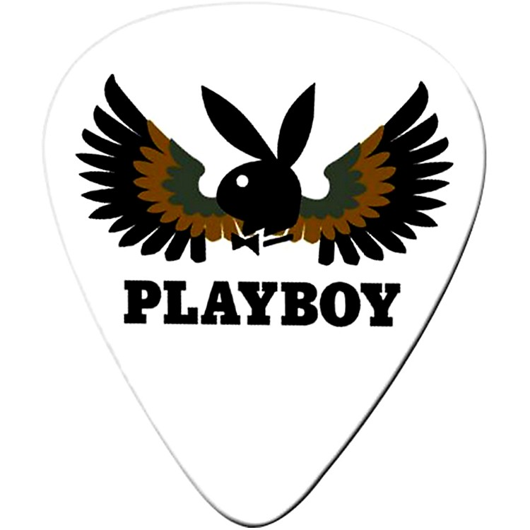 Clayton Playboy Wings Standard Guitar Picks 1 Dozen  Medium