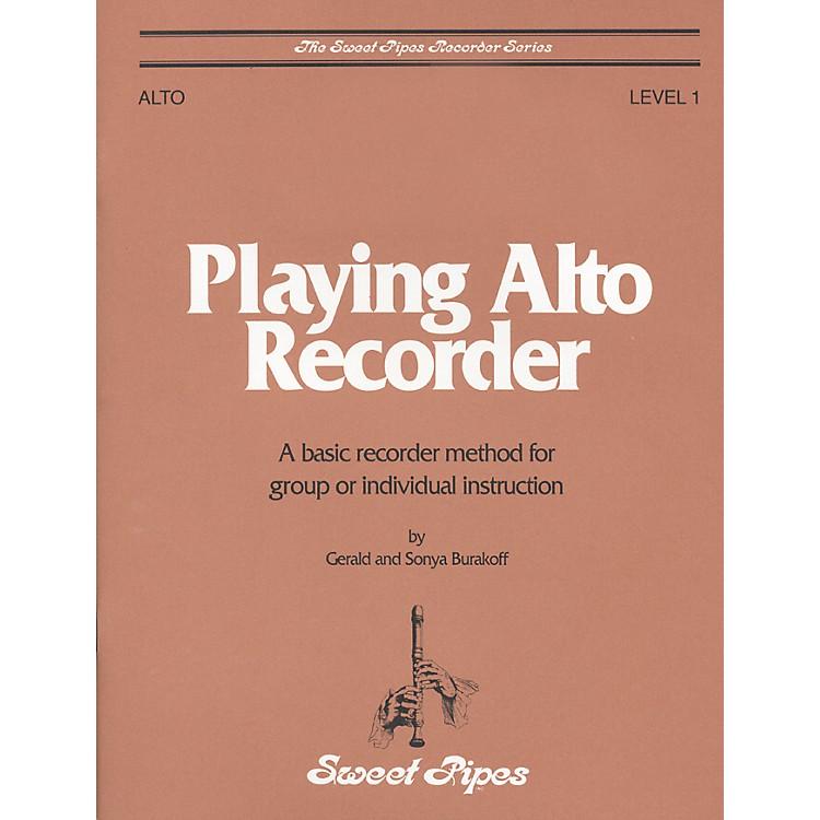 Sweet PipesPlaying Alto Recorder