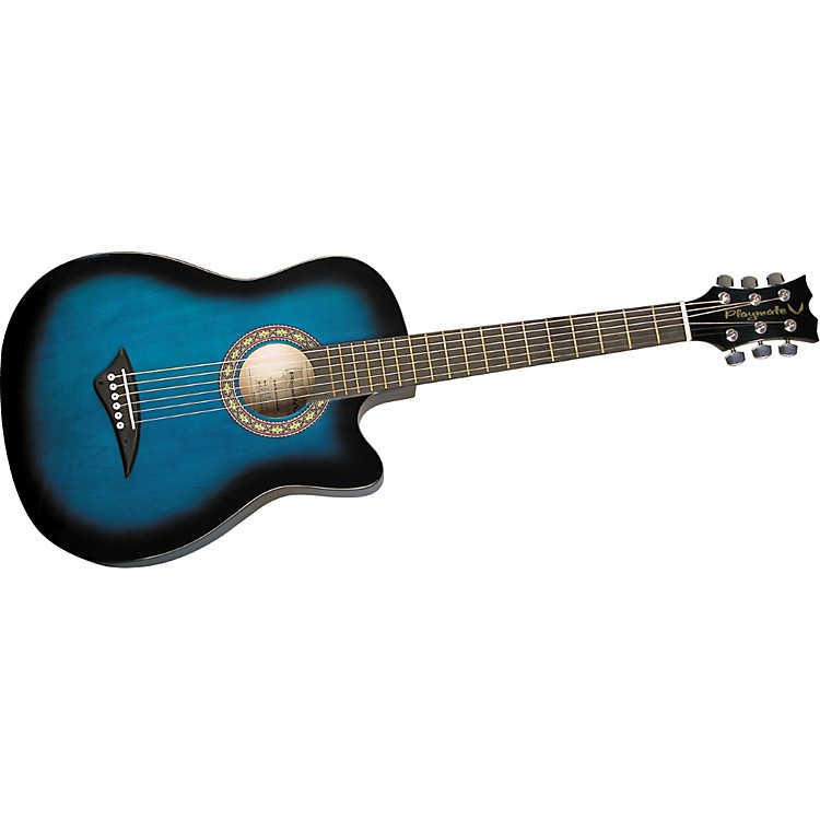 Dean Playmate J 7/8 Size Acoustic Guitar Blueburst