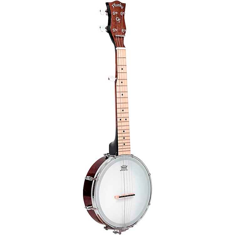 Gold Tone Plucky 5-String Travel Banjo Vintage Brown